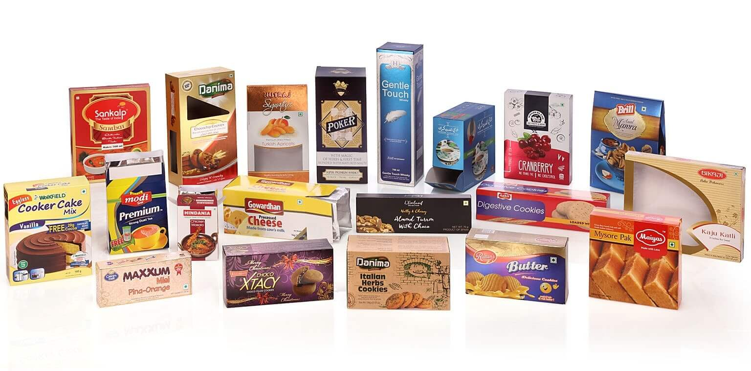 manufacturers of printed folding cartons for food beverages